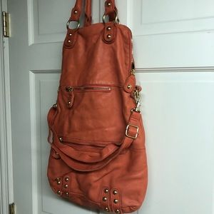 Linea Pelle leather hobo.